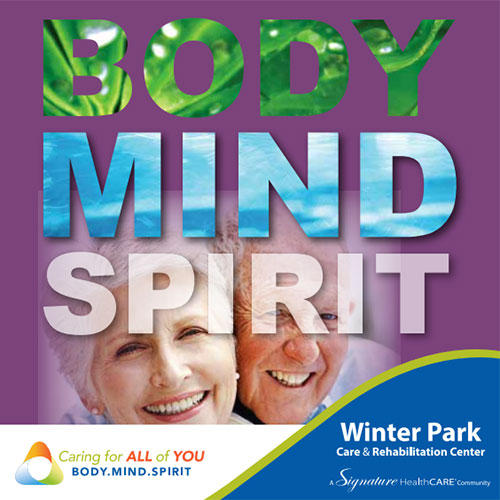 Winter Park, Florida nursing home brochure